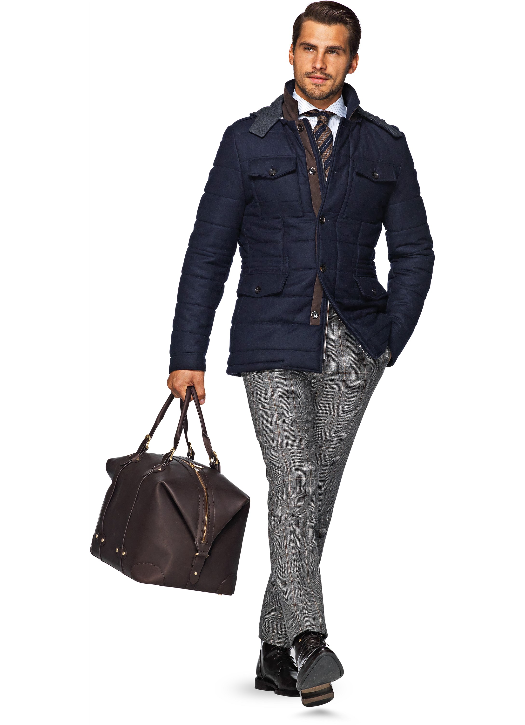 Navy J302i | Suitsupply Online Store