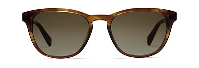 Brown Rectangle Sunglasses