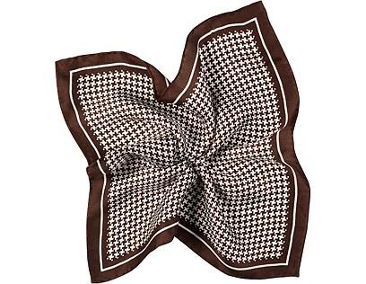 Brown Pocket Square