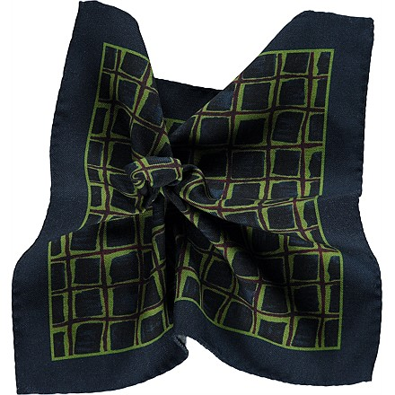 Pocket_Square_Green_D14204