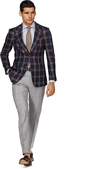 Jacket_Blue_Check_Washington_Half_C548
