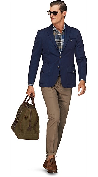 Jacket_Blue_Plain_Casablanca_C568