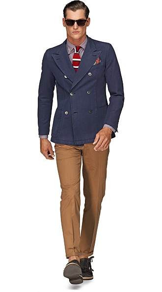 Jacket_Blue_Plain_Double_Breasted_C574