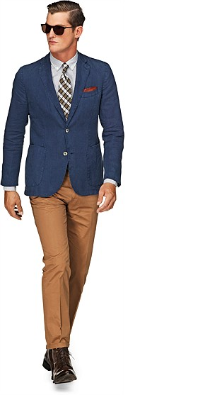 Jacket_Blue_Plain_Copenhagen_C576