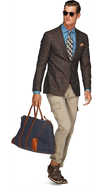 Jacket_Brown_Check_Havana_C546