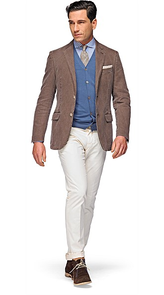 Jacket_Brown_Plain_Copenhagen_C493
