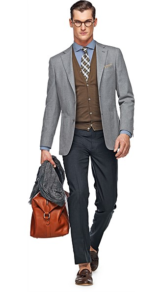 Jacket_Grey_Plain_Havana_C561