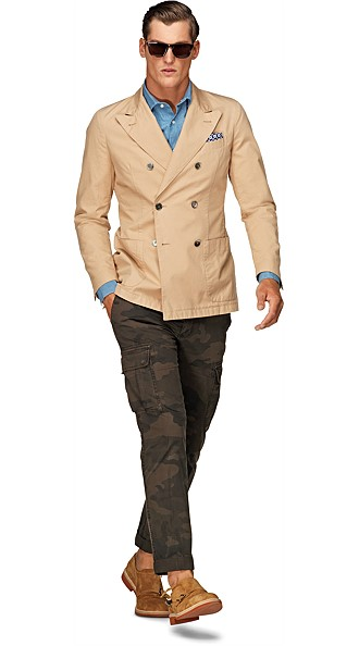Jacket_Khaki_Plain_Double_Breasted_C575