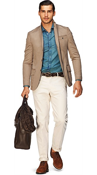 Jacket_Light_Brown_Plain_Casablanca_C573