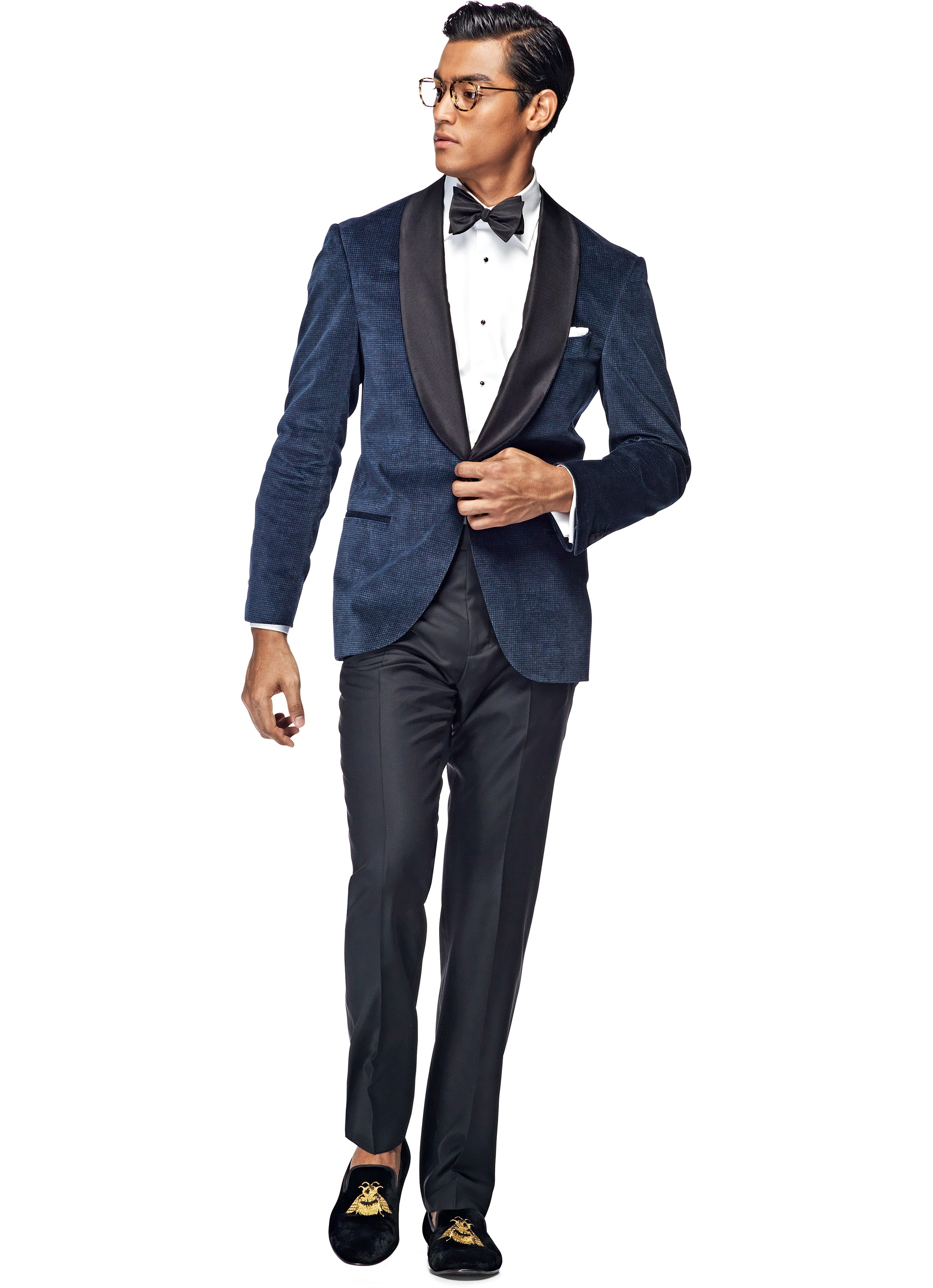 "May 22,  · For Tuxedos, Blue Is the New Black. Image. (""Dinner jacket"" is preferred by fancy folks.) ""If not black, then midnight blue, and as clean and simple as possible, very little if."