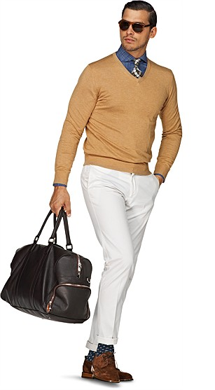 Beige_V-Neck_SW281