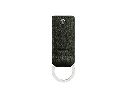 Green Key Ring and USB Drive
