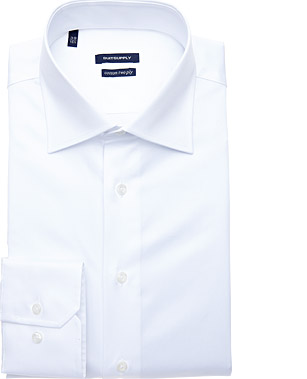 WHITE_SHIRT_Single_Cuff_H3490