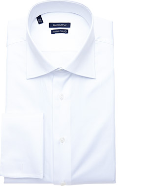 WHITE_SHIRT_Double_Cuff_H3491
