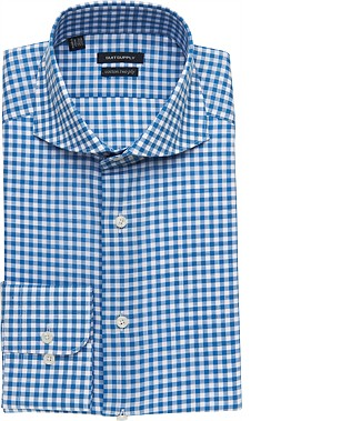BLUE_SHIRT_Single_Cuff_H3827