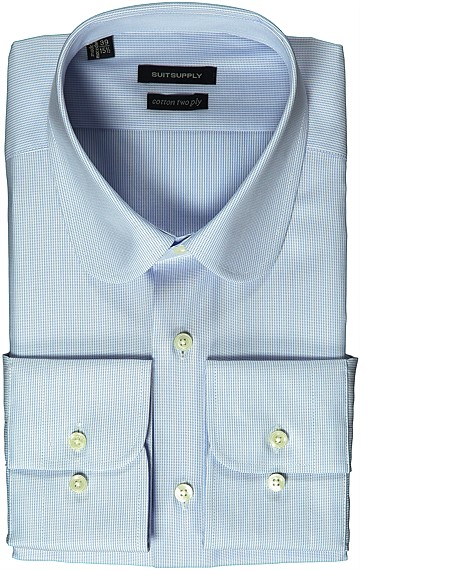 BLUE_SHIRT_Single_Cuff_H3961