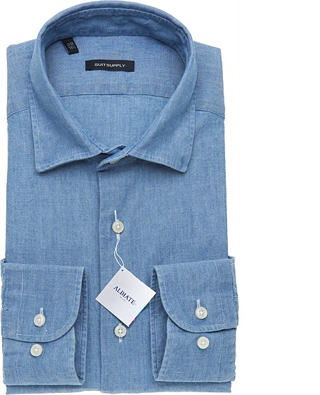 BLUE_WASHED_SHIRT_Single_Cuff_H3851