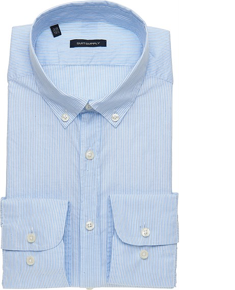 BLUE_WASHED_SHIRT_Single_Cuff_H3885