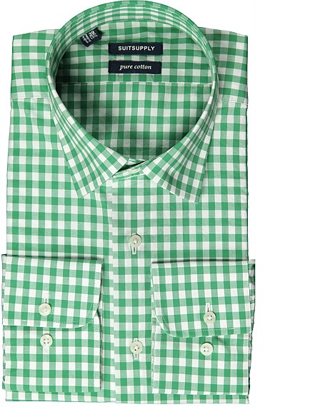 GREEN_WASHED_SHIRT_Single_Cuff_H3940