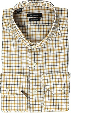 MULTI_WASHED_SHIRT_Single_Cuff_H3945