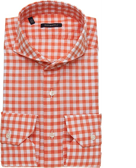 ORANGE_WASHED_SHIRT_Single_Cuff_H3884