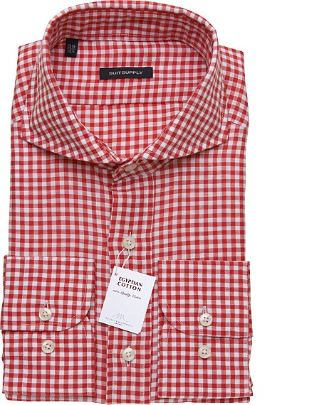 RED_WASHED_SHIRT_Single_Cuff_H3911