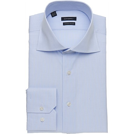 BLUE_SHIRT_Single_Cuff_H3836