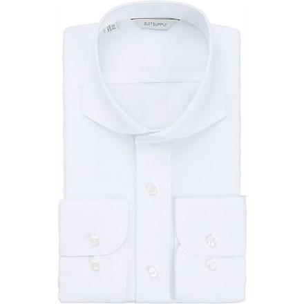 White_Plain_Single_Cuff_H5143U