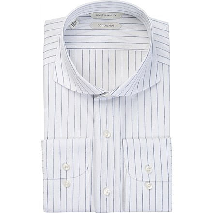 White_Stripe_Single_Cuff_H5506U