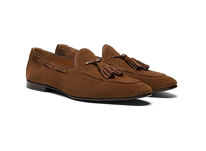 Brown Tassel Loafer