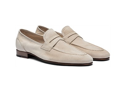 Sand Penny Loafer