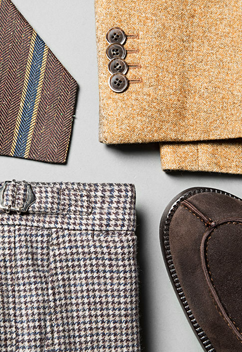 Fall/Winter 2014- Bold Ochre And Muted Brown