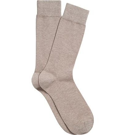 Beige Regular Socks
