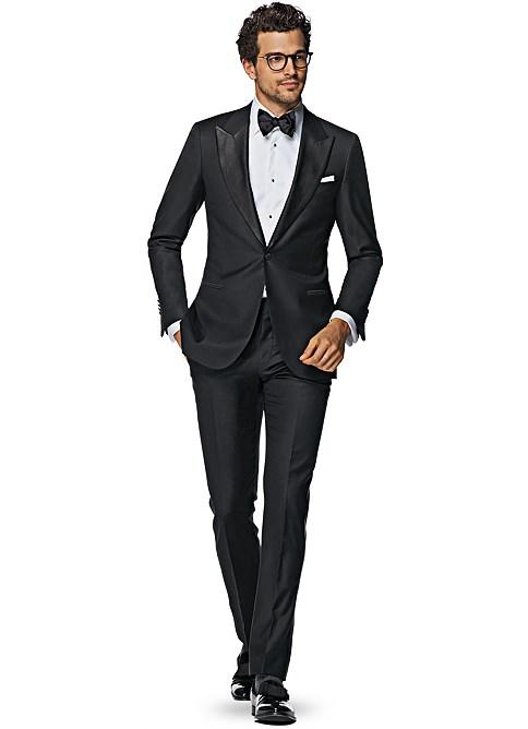 Black Plain Tuxedo