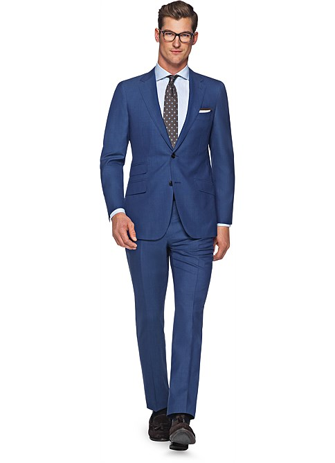 SuitSupply Sienna Blue Plain Trade 40R for a 42R from ...