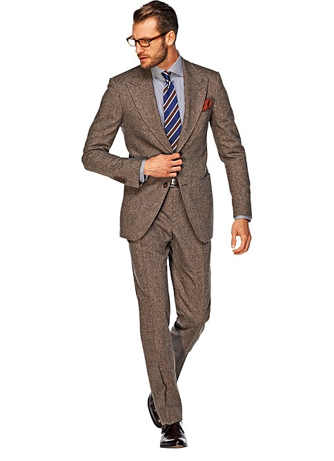 Suit_Brown_Plain_Washington_P3366