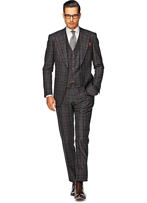 Suit_Dark_Grey_Check_Washington_P3430
