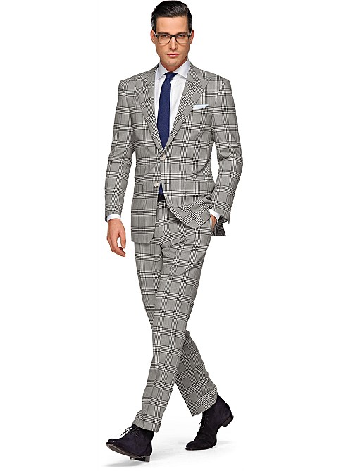Suit_Grey_Check_Washington_P3267