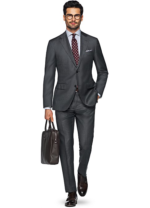 Suit_Grey_Plain_Napoli_P2505ITAH