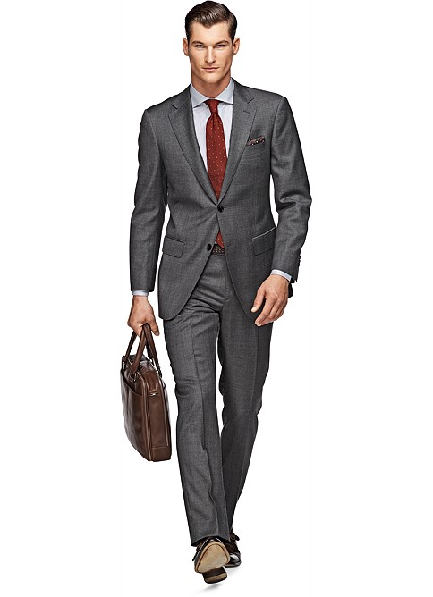 Suit_Grey_Plain_Napoli_P3457I