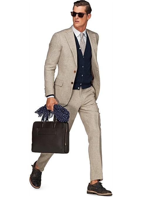 light brown suit dress yy