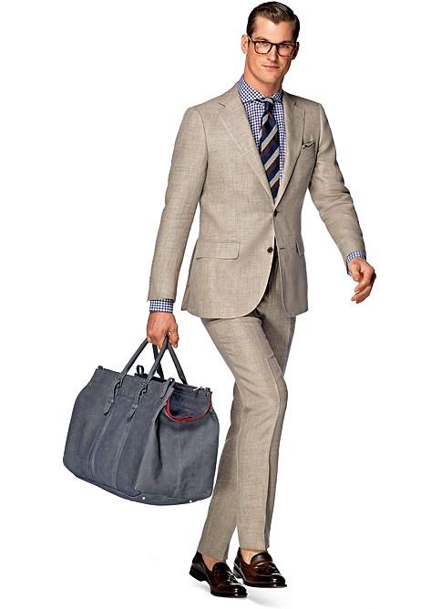 Suit light brown plain lazio p4228i suitsupply online store for Sunshine carpet cleaning lake city mi