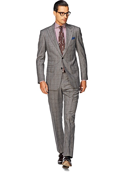 Suit_Light_Grey_Check_Washington_P3380