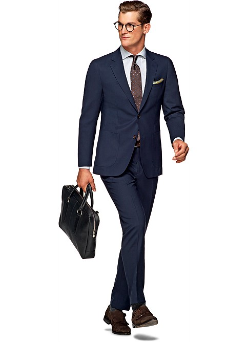 Suit_Navy_Plain_Havana_C4760