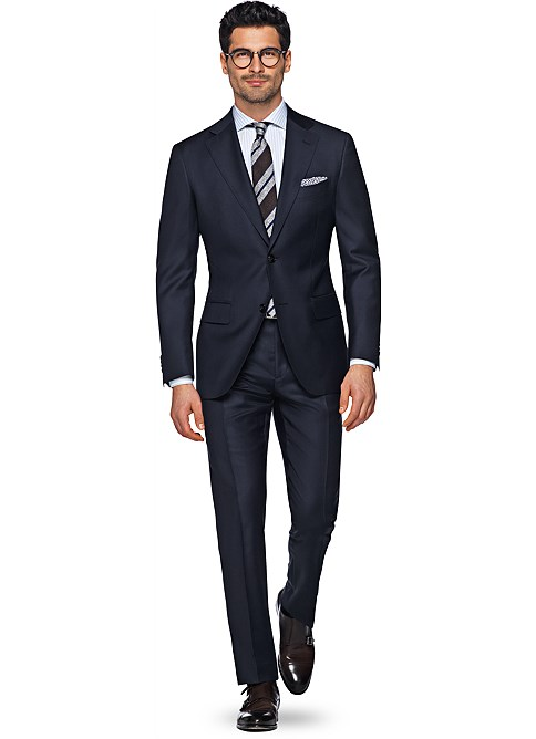 Suit_Navy_Plain_Napoli_P2778ITAH