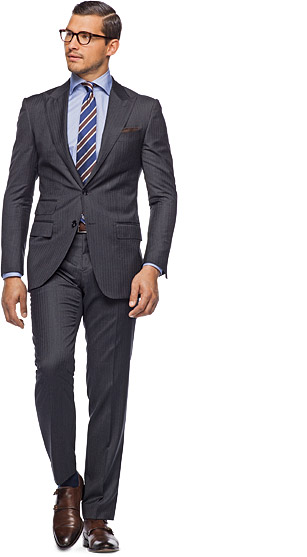Suit_Grey_Herringbone_Washington_P2509IW