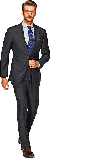 Suit_Dark_Grey_Plain_Napoli_P2525