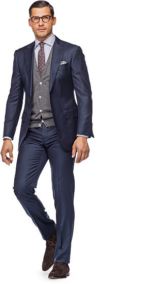 Suit_Navy_Plain_Napoli_P2778