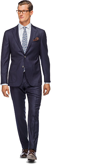 Suit_Navy_Plain_Havana_P3452