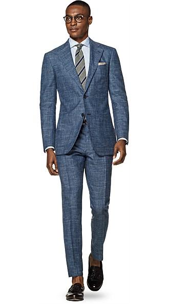 Hudson Blue Check